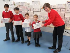 Falkland School Shoebox Collection