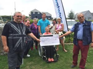 Presentation to Cowes Sailability 2015
