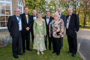 Rotary Club Honours Two Members
