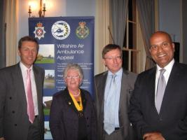 Rotary Supports Wiltshire Air Ambulance