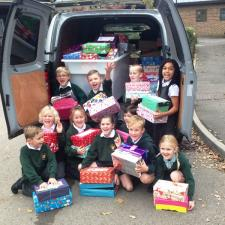Journey start for the Shoe Boxes