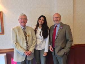 Mohini Gujadhur talks about her 600th Anniversary Rotary Scholarship to study for an MSc at St.Andrews University.