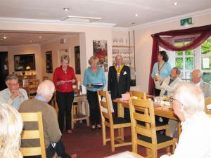 NEW MEMBER INDUCTIONS Sept 2009