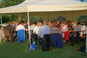 June 2014 Club Barbecue BBQ - in the Presidents Garden, Bar Hill