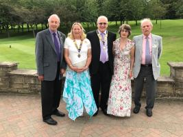 Rotary and Inner Wheel Changeover July 2019