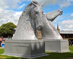 Rotary supports the Kelpies