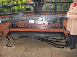 George Eliot Bench