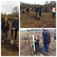 Bladon youngsters sow seeds of the future at a community orchard