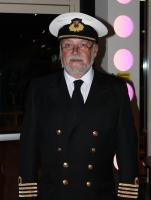 Speaker Captain John Tarling of the Merchant Navy