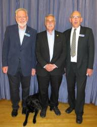 Medical Detection dog visits Ampthill Rotary