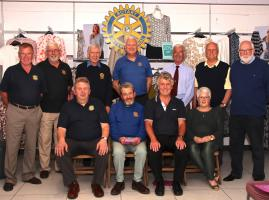 Joined up Rotary with M & Co - Fashion Show