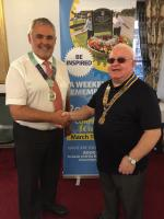 District Governor Malcolm Baldwin - click picture for more!