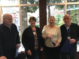 3 Paul Harris Fellows Inducted
