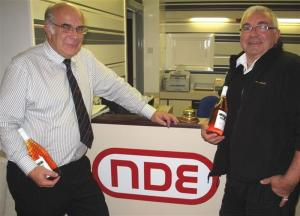 VISIT TO NDE 28th OCTOBER 2009
