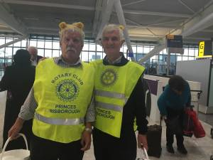 Children in Need Heathrow Airport 2014