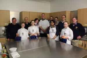Dundee Clubs Young Chef Final 2014