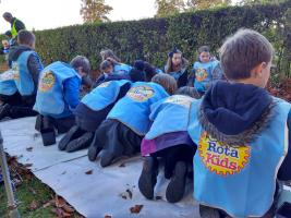 Rotary Forres RotaKids Celebrate World Polio Day 2016