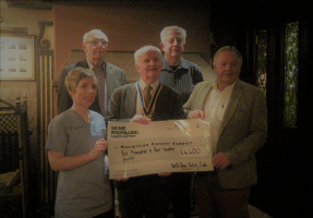 North Down Rotary Supports Macmillan Cancer Care