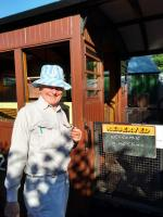 Steam trains and chips - a visit to and from Llanfair Caereinion