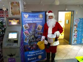 Collection for Rotary Children's Hospice Holidays