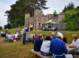 Barbecue at Homeyards, Shaldon