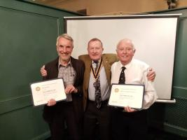 Paul Harris Rotary Fellowship Award 2020