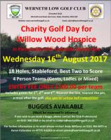 Charity Golf Day at Werneth Low Golf Club