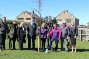 Spennymoor Rotary Tree in Jubilee Park