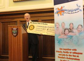 Civic Reception for Swimarathon