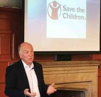 Speaker meeting Mr Terry Hiscock Save The Children