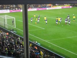 Ed at Norwich City Football Game