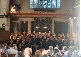 In May, Rotary organised a visit of Belgian choir to Epsom