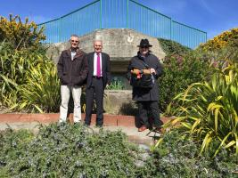 District Governor Visits Rotary Garden (5 April 2017)