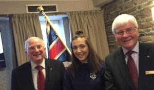 Rotary club of Stirling meeting of 5th Jan 2018