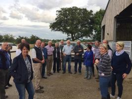 Visit to Dairy Farm Unit - Knaptoft - 1st August 2017
