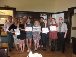 Youth Night at Dunbar Rotary Club
