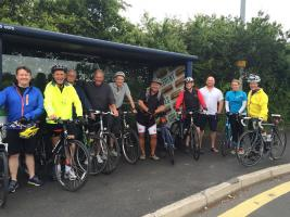 Prostate Cancer Cycle Ride 19 June 2016