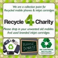 Recycle Mobile phones & inkjet cartridges