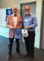 PP Tony Sprake at Albert Park Rotary Club in Austraila