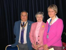 1 March 2012 Kay Mair - Parkinson's and Alison McLeod Induction