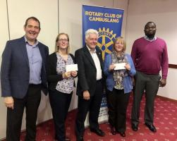 6th Nov 2019 - Cheque Presentation
