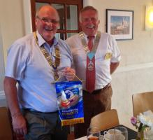 District Governor visits Portland
