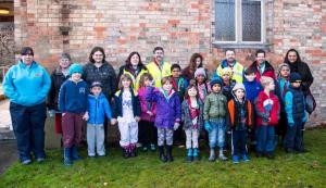 Langley Scouts Crocus Planting