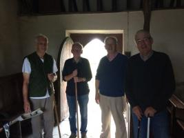 Church Cleaning Llanfair yn Neubwll 28th July 2016