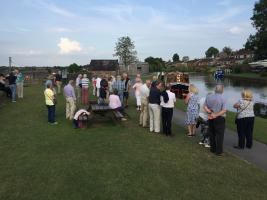 Wellington Rotarians and friends take a trip on the Grand Western Canal