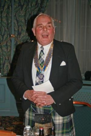Burns' night with traditional entertainment