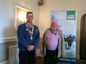 Forres Continues Support for Shelterbox