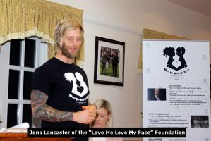 Presentation by Jono Lancaster of the