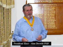 The Purple Community Fund by Alan Drewitt PHF