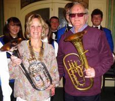 Grant to Fairfield Band for Refurbishing Tenor Horn